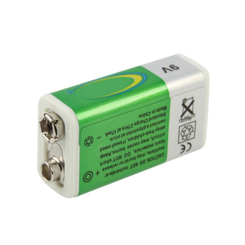 Pile 9v 280mah rechargeable ni mh 6lr61 discount pas cher - Pile 9v rechargeable ...