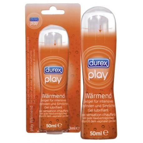 Sextoys, sexshop, loveshop, lingerie sexy : Lubrifiants Chauffant : Durex Play Warming Lubrifiant Chauffant non Parfumé