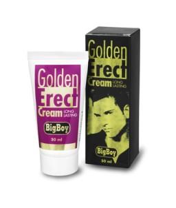 Sextoys, sexshop, loveshop, lingerie sexy : Aphrodisiaques : Big Boy Golden Erect Cream crème pour l'érection