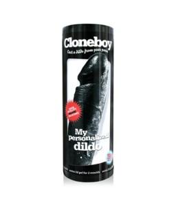 Sextoys, sexshop, loveshop, lingerie sexy : Moulages Intimes : CloneBoy Godmichet Black kit de moulage intime noir