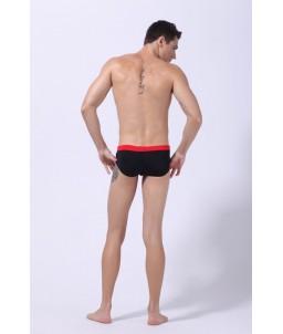 Sextoys, sexshop, loveshop, lingerie sexy : Maillot de Bain Sexy : Maillot de Bain Sexy Boxer Noir Taille M Modèle : Pacha