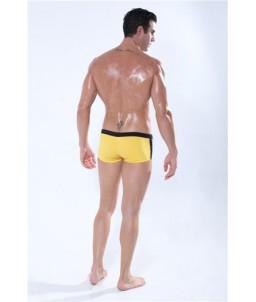 Sextoys, sexshop, loveshop, lingerie sexy : Maillot de Bain Sexy : Maillot de Bain Sexy Boxer Jaune Taille XL Modèle : Privilege