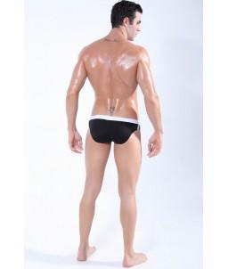Sextoys, sexshop, loveshop, lingerie sexy : Maillot de Bain Sexy : Maillot de Bain Sexy Boxer Noir Taille M Modèle : Ku