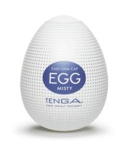 Sextoys, sexshop, loveshop, lingerie sexy : Vagin Artificiel : Tenga Egg Misty Masturbateur Homme