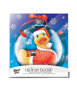 Sextoys, sexshop, loveshop, lingerie sexy : Vibro Waterproof : Canard Vibrant Mini Holiday Duckie Santa
