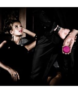Sextoys, sexshop, loveshop, lingerie sexy : Sextoys luxe : Lelo Lyla 2 : oeuf vibreur à télécommande Cerise