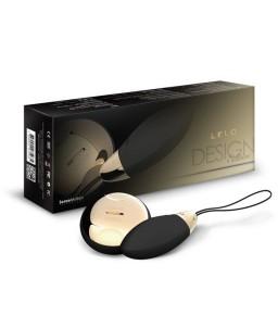 Sextoys, sexshop, loveshop, lingerie sexy : Sextoys luxe : Lelo Lyla 2 : oeuf vibreur à télécommande Noir