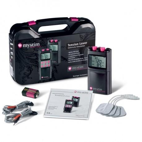 Sextoys, sexshop, loveshop, lingerie sexy : Electro-Stimulation : Mallette Mystim Tension Lover 7 Fonctions
