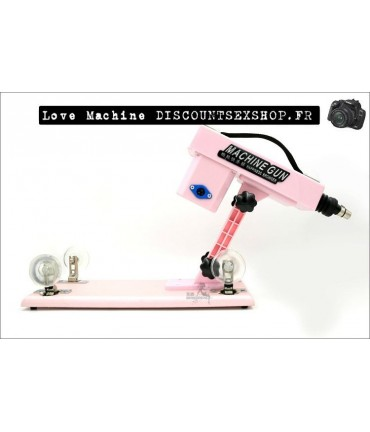 Sextoys, sexshop, loveshop, lingerie sexy : Love Machine / LoveSwing : Sex Machine Gun réglable à vitesse variable et Ventous...