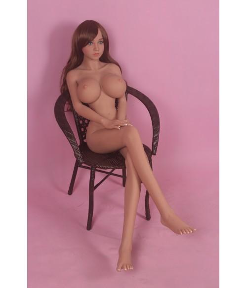 Sextoys, sexshop, loveshop, lingerie sexy : Sexdoll poupée silicone : Sexdoll poupée silicone 155cm Gina