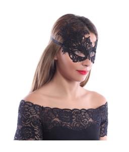 Sextoys, sexshop, loveshop, lingerie sexy : Masques : Masque Sexy Noir en Dentelle Masquerade