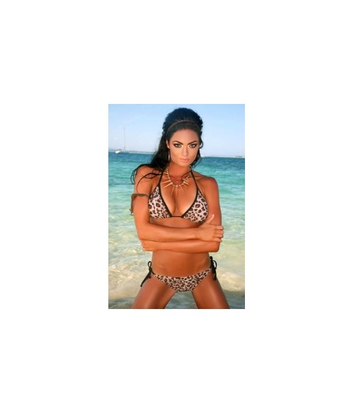 Sextoys, sexshop, loveshop, lingerie sexy : Maillot de bain et bikini : Sexy Bikini Motif Panthère