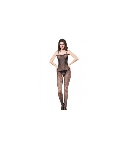 Sextoys, sexshop, loveshop, lingerie sexy : Combinaisons : Combinaison sexy noire LB12286