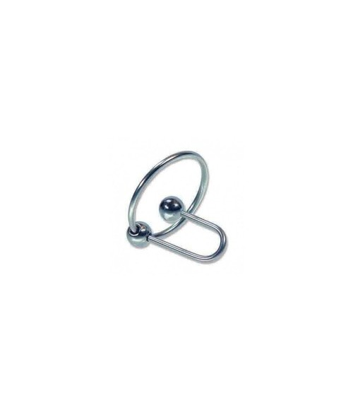 Sextoys, sexshop, loveshop, lingerie sexy : Plug d'Urêtre : Boule urétrale avec anneau de gland