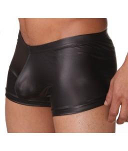 """Sextoys, sexshop, loveshop, lingerie sexy : Boxers & Strings : Boxer Moulant Noir """"XL"""" Style Cuir"""