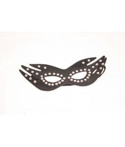 Sextoys, sexshop, loveshop, lingerie sexy : Masques : masque simili cuir noir