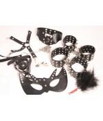Sextoys, sexshop, loveshop, lingerie sexy : Kit BDSM : Pack Accessoires SM cloutés