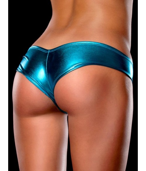 Sextoys, sexshop, loveshop, lingerie sexy : Strings & Boxers : Sexy String vinyle bleu