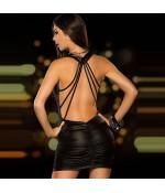 Sextoys, sexshop, loveshop, lingerie sexy : Clubwear / Tenues Sexy : Mini Robe Sexy Vinyle