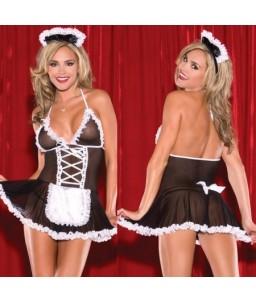 Sextoys, sexshop, loveshop, lingerie sexy : Deguisement soubrette sexy : Costume Soubrette Sexy \\