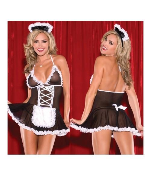 """Sextoys, sexshop, loveshop, lingerie sexy : Deguisement soubrette sexy : Costume Soubrette Sexy """"XXL"""""""