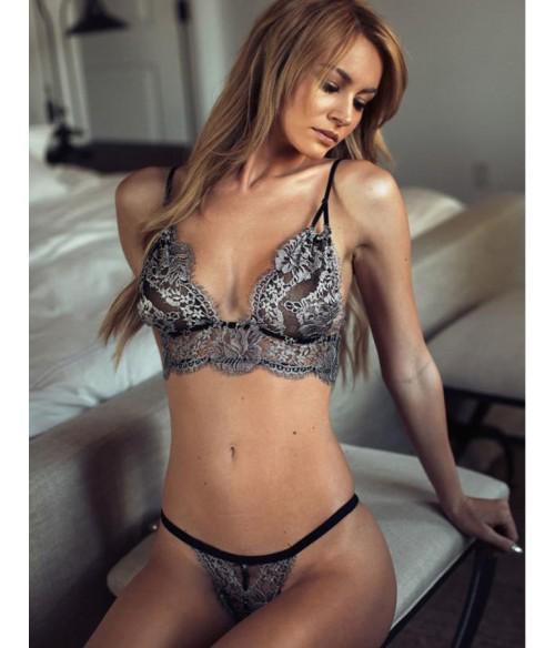 Sextoys, sexshop, loveshop, lingerie sexy : Ensemble lingerie sexy : Ensemble Lingerie sexy pailleté dentelle