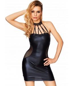 Sextoys, sexshop, loveshop, lingerie sexy : Clubwear / Tenues Sexy : Mini Robe Sexy noir M