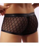 """Sextoys, sexshop, loveshop, lingerie sexy : Boxers & Strings : Boxer sexy Noir \\""""L\\"""""""