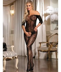 Sextoys, sexshop, loveshop, lingerie sexy : Combinaisons : Combinaison sexy noir