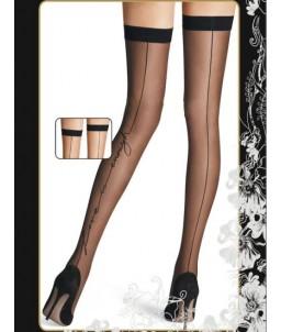 Sextoys, sexshop, loveshop, lingerie sexy : Bas & Collants :  Bas Voile Noir sexy