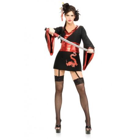 "Sextoys, sexshop, loveshop, lingerie sexy : Deguisement Femme sexy : Costume Sexy Samourai Girl ""L/XL"""