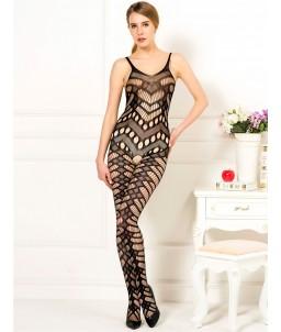 Sextoys, sexshop, loveshop, lingerie sexy : Lingerie sexy grande taille : Combinaison noir sexy XL