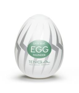 Sextoys, sexshop, loveshop, lingerie sexy : Vagin Artificiel : Masturbateur Tenga Egg THUNDER Vagin Artificiel