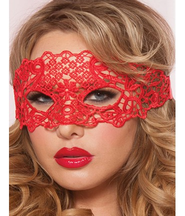 Sextoys, sexshop, loveshop, lingerie sexy : Masques : masque loup rouge sexy