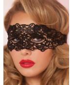 Sextoys, sexshop, loveshop, lingerie sexy : Masques : masque loup noir sexy