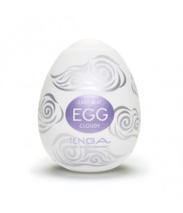Sextoys, sexshop, loveshop, lingerie sexy : Vagin Artificiel : Masturbateur Tenga Egg cloudy Vagin Artificiel