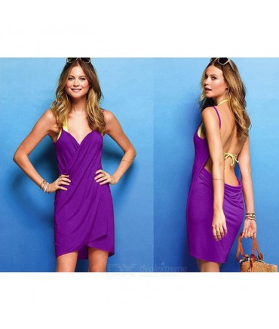 Sextoys, sexshop, loveshop, lingerie sexy : Bikini et Plage : Robe de Plage violette