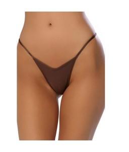 Sexy String marron