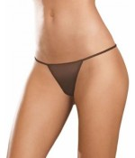 Sextoys, sexshop, loveshop, lingerie sexy : Strings & Boxers : Sexy String marron