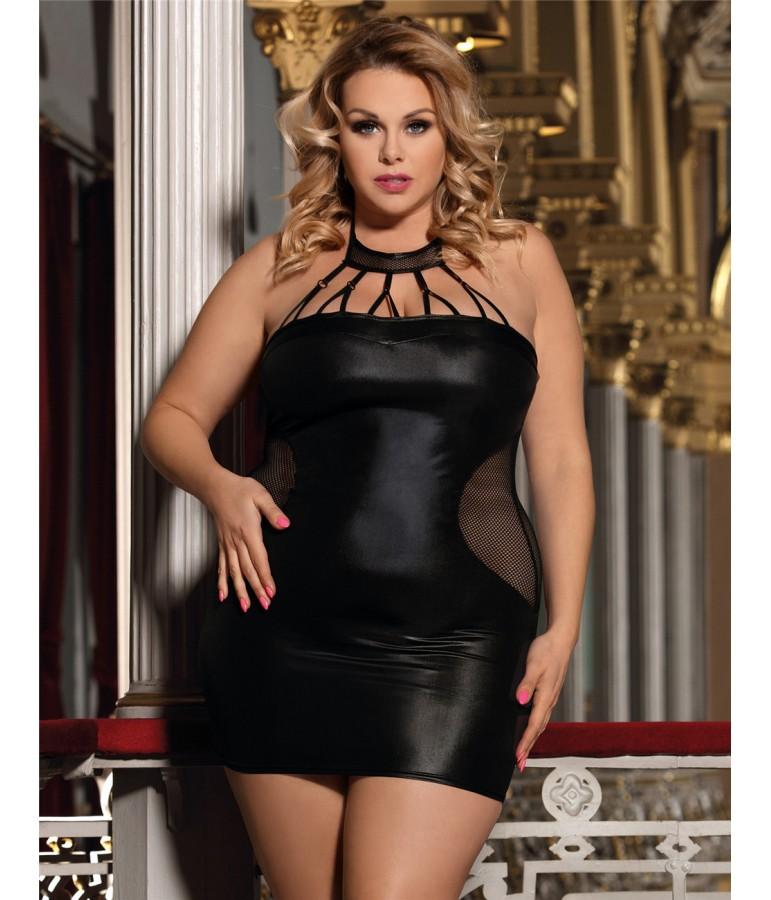 mini robe sexy noir xl discount pas cher sexshop eveselache. Black Bedroom Furniture Sets. Home Design Ideas
