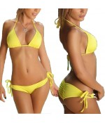 Sextoys, sexshop, loveshop, lingerie sexy : Maillot de bain et bikini : Sexy Bikini jaune