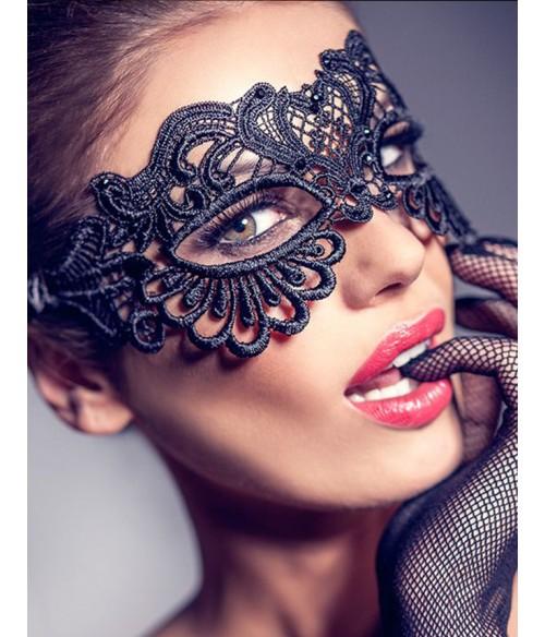 Sextoys, sexshop, loveshop, lingerie sexy : Masques : Masque noir sexy dentelle