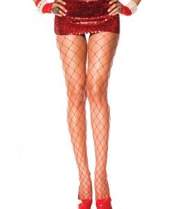 Sextoys, sexshop, loveshop, lingerie sexy : Bas & Collants : Sexy Collant grande résille rouge