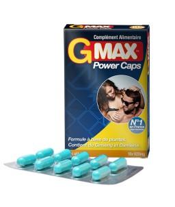 Sextoys, sexshop, loveshop, lingerie sexy : Aphrodisiaques : GOLD MAX Aphrodisiaque G MAX POWER Pour Homme X10