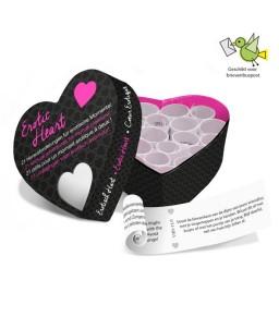 Sextoys, sexshop, loveshop, lingerie sexy : Accessoires Soirée Coquine : Jeux Mini erotic heart