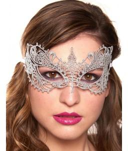 Sextoys, sexshop, loveshop, lingerie sexy : Masques : Masque gris sexy dentelle
