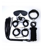 Sextoys, sexshop, loveshop, lingerie sexy : Kit BDSM : Ensemble Fetish Noir BDSM