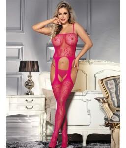 Sextoys, sexshop, loveshop, lingerie sexy : Combinaisons : Combinaison sexy rose TU