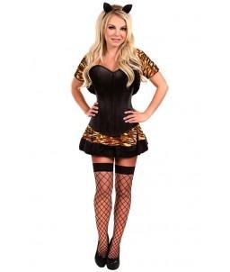 Sextoys, sexshop, loveshop, lingerie sexy : Deguisement Femme sexy : Costume sexy tigresse L