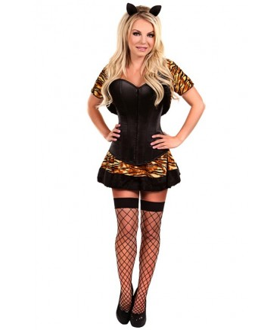 Sextoys, sexshop, loveshop, lingerie sexy : Deguisement Femme sexy : Costume sexy tigresse S